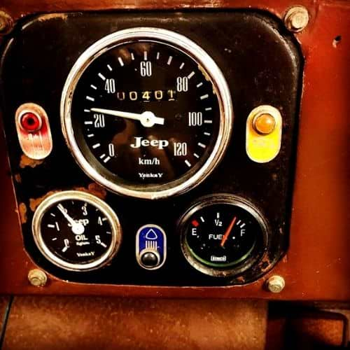 golf cart speedometer