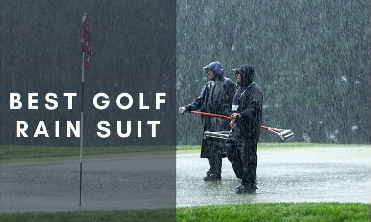 Best golf rain suit