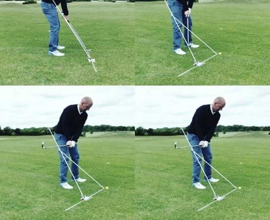 golf swing for begonners