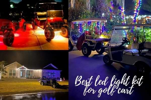 Best led light kit for golf cart