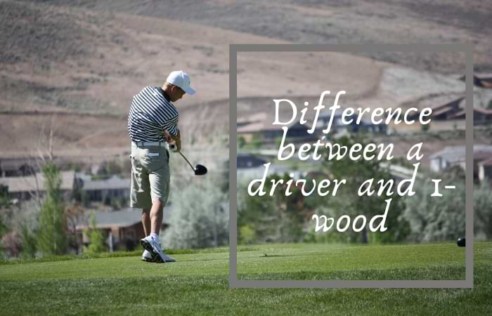 difference between a driver and 1-wood
